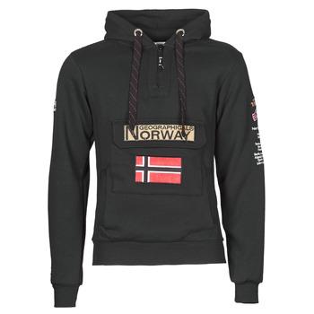 textil Herr Sweatshirts Geographical Norway GYMCLASS Svart