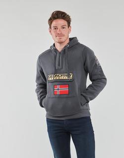 textil Herr Sweatshirts Geographical Norway GYMCLASS Grå
