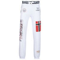 textil Herr Joggingbyxor Geographical Norway MYER Vit