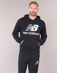 textil Herr Sweatshirts New Balance NB SWEATSHIRT Svart