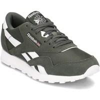 Skor Barn Sneakers Reebok Sport Classic Nylon Oliv