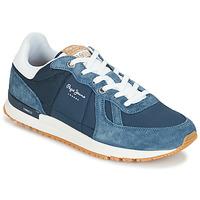 Skor Herr Sneakers Pepe jeans TINKER PRO Blå
