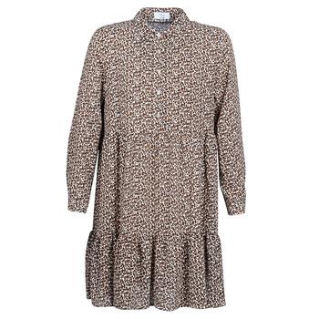 textil Dam Korta klänningar Betty London JECREHOU Beige / Brun