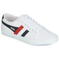 Skor Herr Sneakers Gola VARSITY Vit