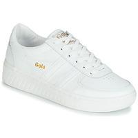 Skor Dam Sneakers Gola GRANDSLAM LEATHER Vit