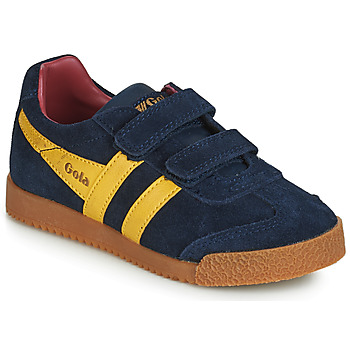 Skor Barn Sneakers Gola HARRIER VELCRO Blå