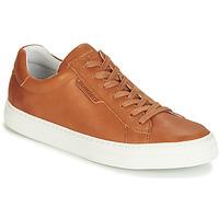 Skor Herr Sneakers Schmoove SPARK-CLAY Tan (mellanbrun)