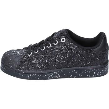 Skor Flickor Sneakers Solo Soprani sneakers nero glitter BT294 Nero
