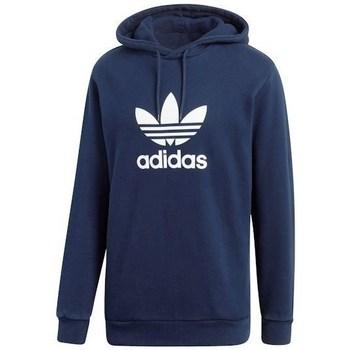 textil Herr Sweatshirts adidas Originals Trefoil Hoody Grenade