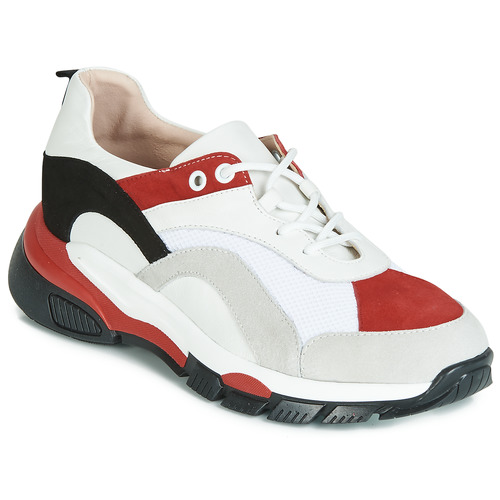 Skor Dam Sneakers Tosca Blu KELLY Vit / Röd