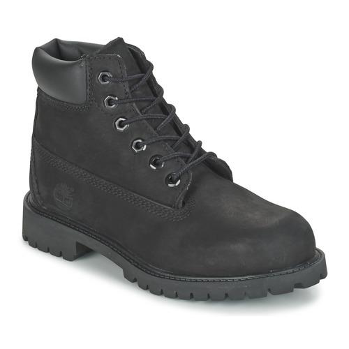 Skor Barn Boots Timberland 6 IN CLASSIC Svart