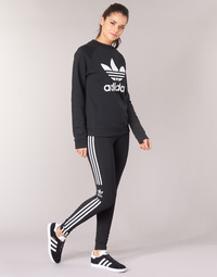 textil Dam Leggings adidas Originals TREFOIL TIGHT Svart