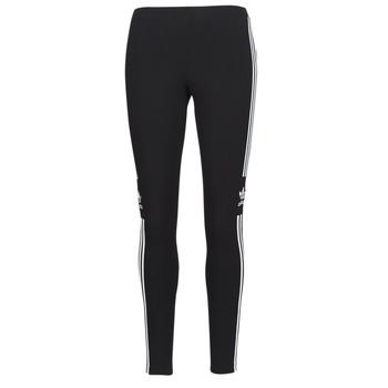 textil Dam Leggings adidas Originals TREFOIL TIGHT Svart