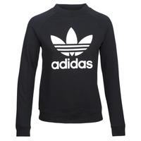 textil Dam Sweatshirts adidas Originals TRF CREW SWEAT Svart