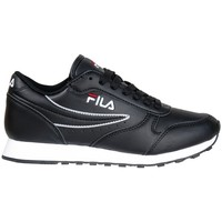 Skor Dam Sneakers Fila Orbit Low Wmn Svarta