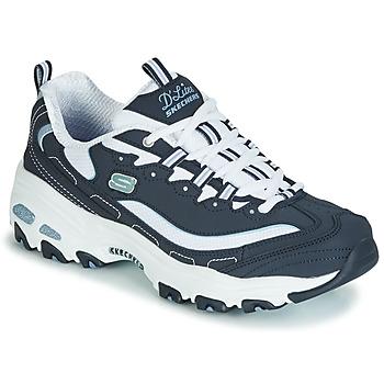 Skor Dam Sneakers Skechers D'LITES BIGGEST FAN Navy