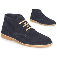 Skor Herr Boots Selected ROYCE DESERT LIGHT SUEDE Marin