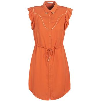 textil Dam Korta klänningar LPB Woman AZITARTE Korall