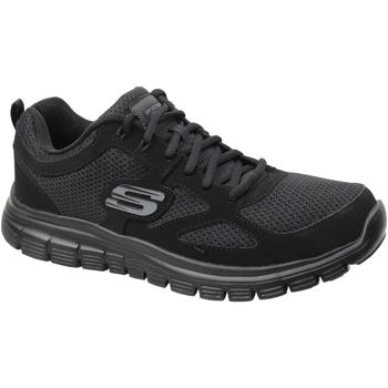 Skor Herr Sneakers Skechers Burns 52635-BBK