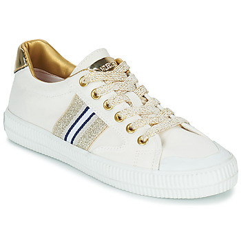 Skor Dam Sneakers Replay EXTRA Vit / Guldfärgad