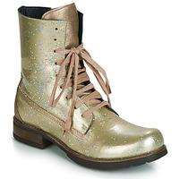 Skor Dam Boots Papucei JANET Grön / Beige