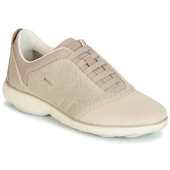 Skor Dam Sneakers Geox D NEBULA Beige / Krämfärgad