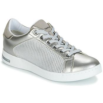 Skor Dam Sneakers Geox D JAYSEN Silver