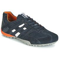 Skor Herr Sneakers Geox UOMO SNAKE Marin