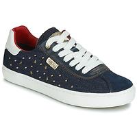 Skor Flickor Sneakers Geox J KILWI GIRL Marin
