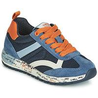 Skor Pojkar Sneakers Geox J ALBEN BOY Marin / Orange