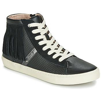 Skor Flickor Höga sneakers Geox J KILWI GIRL Svart