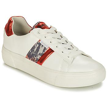Skor Dam Sneakers Refresh 69954 Vit / Röd
