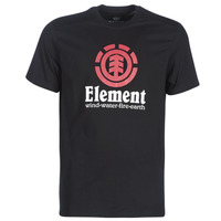 textil Herr T-shirts Element VERTICAL SS Svart