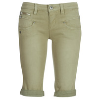 textil Dam Shorts / Bermudas Freeman T.Porter Belixa New Magic Color Kaki
