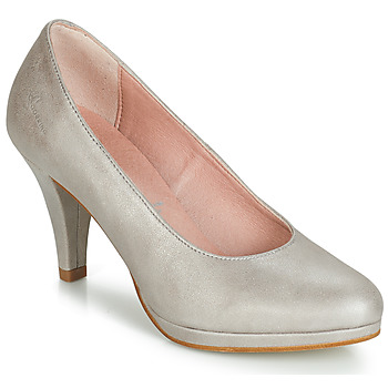 Skor Dam Pumps Dorking 7118 Silver