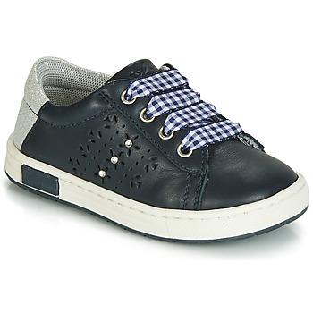 Skor Flickor Sneakers Chicco CLARETTA Marin / Vichy-rutig