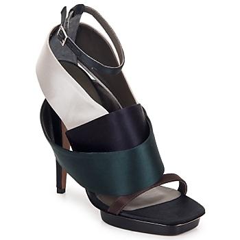 sandaler Kallisté NU-PIED 5801 Silver 350x350