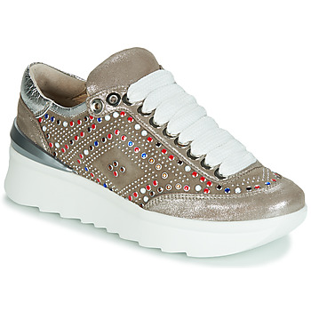 Skor Dam Sneakers Fru.it 5357-008 Beige / Paljett