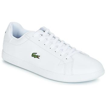 Skor Herr Sneakers Lacoste GRADUATE BL 1 Vit