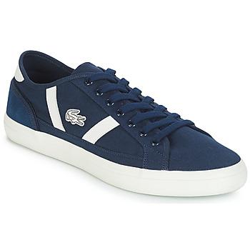 Skor Herr Sneakers Lacoste SIDELINE 119 1 Marin / Vit