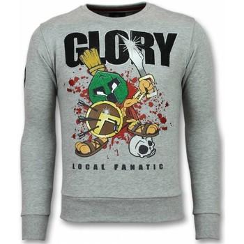 textil Herr Sweatshirts Local Fanatic Glory Marvin Spartacus G Grå