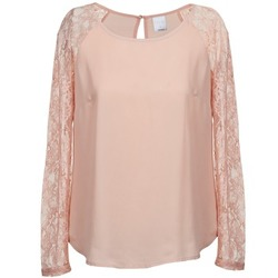 textil Dam Blusar Vero Moda REAL Rosa