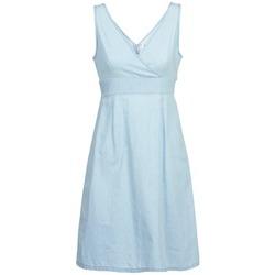 textil Dam Korta klänningar Vero Moda JOSEPHINE Blå / Ljus