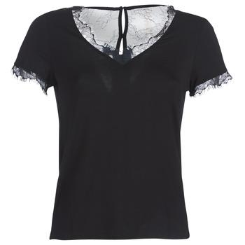 textil Dam T-shirts Morgan DMINOL Svart