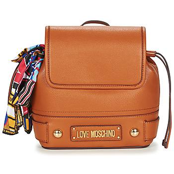Väskor Dam Ryggsäckar Love Moschino JC4037PP17 Cognac