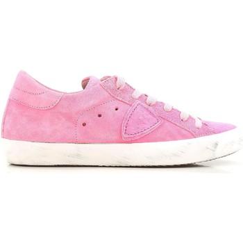 Skor Dam Sneakers Philippe Model CLLD XR04 Rosa acceso