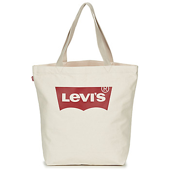 Väskor Dam Shoppingväskor Levi's Batwing Tote W Benvit