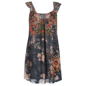 textil Dam Korta klänningar Desigual NIELS Grå