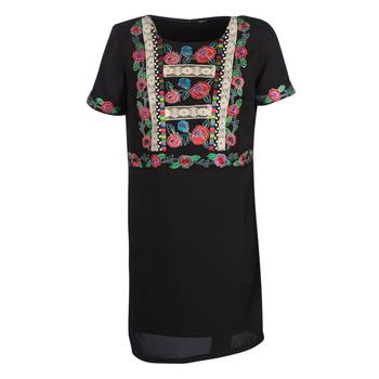 textil Dam Korta klänningar Desigual TRALEE Svart
