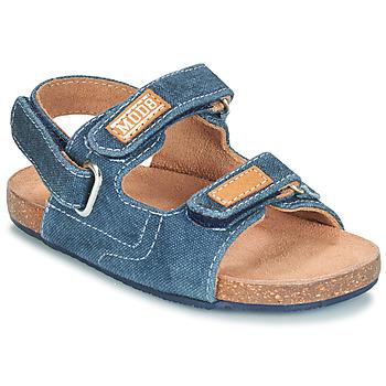 Skor Pojkar Sandaler Mod'8 KORTIS Blå / Jeans